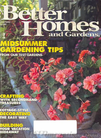Better Homes and Gardens July 1993