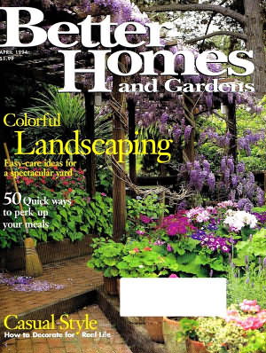 Better Homes and Gardens April 1994