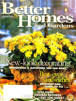 Better Homes and Gardens September 1994