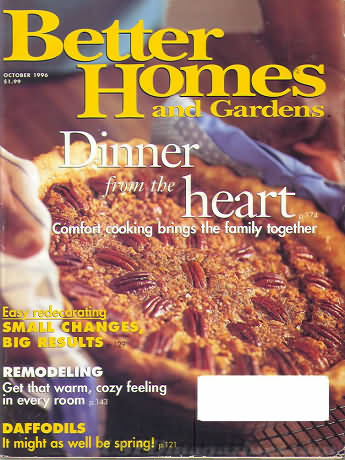 Better Homes and Gardens October 1996