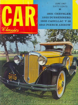 Car Classics June 1967