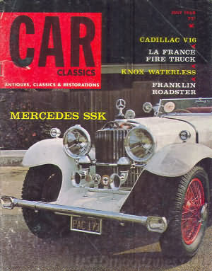 Car Classics July 1968