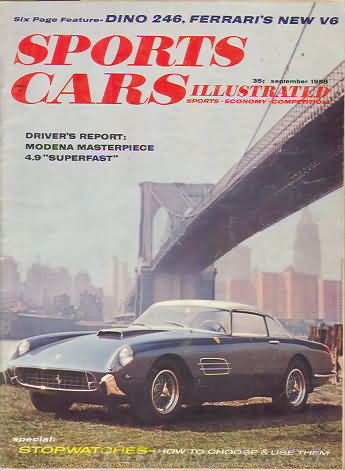 Sports Car Illustrated (Car and Driver) September 1958