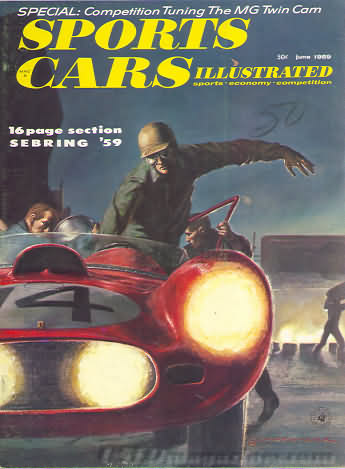 Sports Car Illustrated (Car and Driver) June 1959
