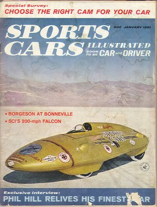 Sports Car Illustrated (Car and Driver) January 1961