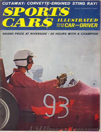 Sports Car Illustrated (Car and Driver) March 1961