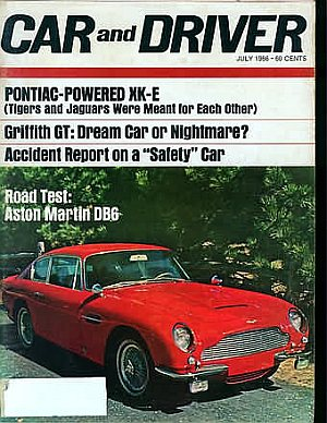Car and Driver July 1966