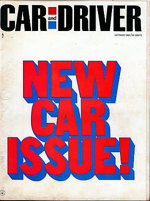 Car and Driver October 1968