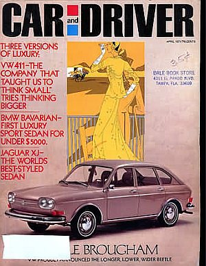 Car and Driver April 1971