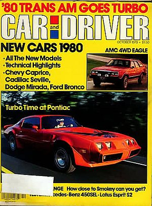 Car and Driver October 1979
