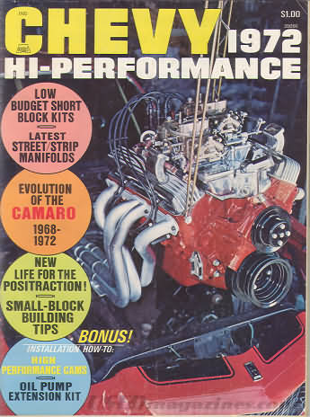Chevy High Performance January 1972