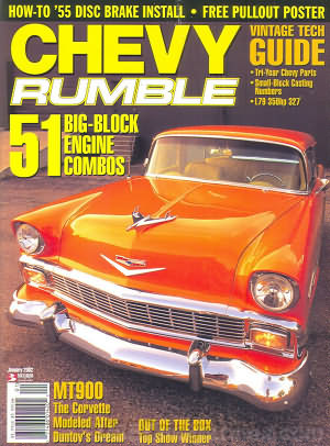 Chevy Rumble January 2002