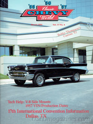 Classic Chevy World March 1991