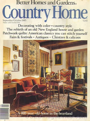 Country Home September/October 1983