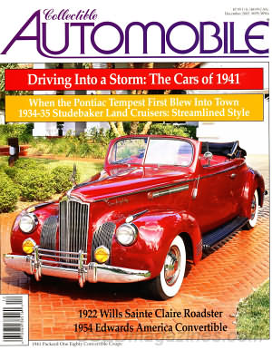 Collectible Automobile Volume 19 Number 4
