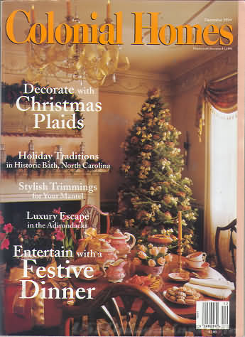 Colonial Homes December 1994