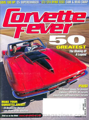 Corvette Fever June 2003