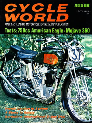 Cycle World August 1968