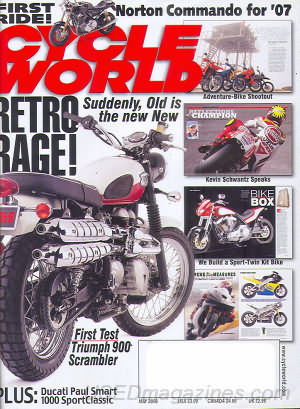 Cycle World May 2006
