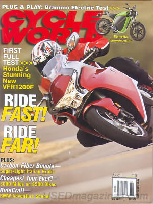 Cycle World April 2010