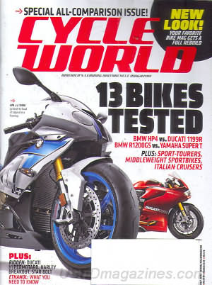 Cycle World July 2013