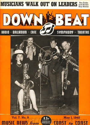 Down Beat May 01, 1940