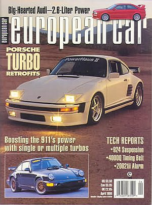 European Car April 1996