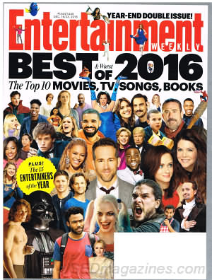 Entertainment Weekly December 16/23 2016