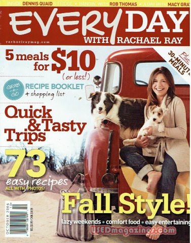 Everyday with Rachael Ray October 2006