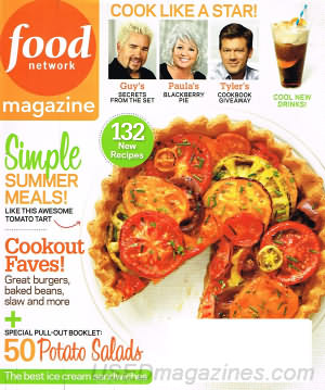 Food Network July/August 2011