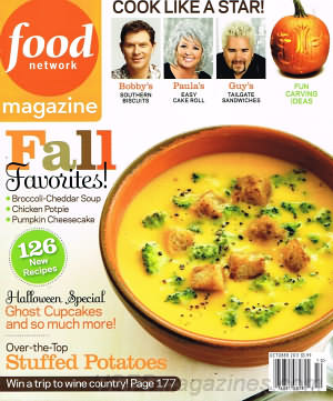 Food Network October 2011