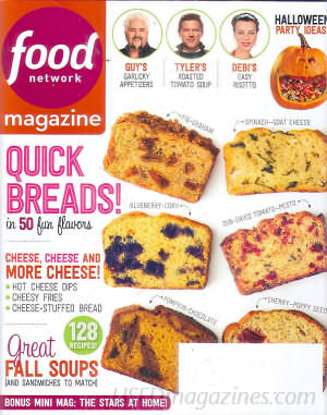 Food Network October 2014