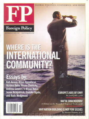 Foreign Policy September/October 2002