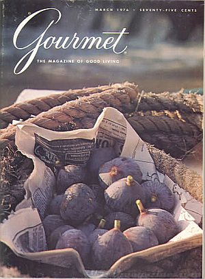Gourmet March 1976