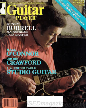 Guitar Player April 1981