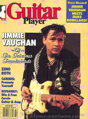 Guitar Player July 1986