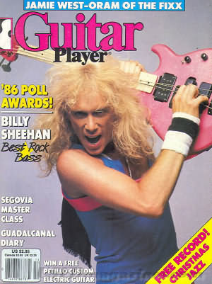 Guitar Player December 1986