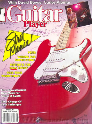 Guitar Player August 1987