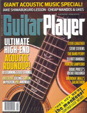 Guitar Player August 2013