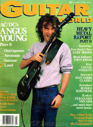 Guitar World March 1984