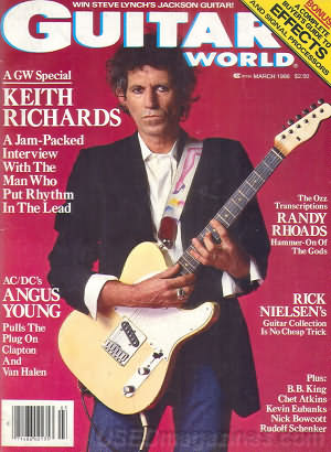 Guitar World March 1986