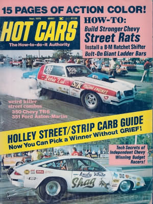 Hot Cars September 1975