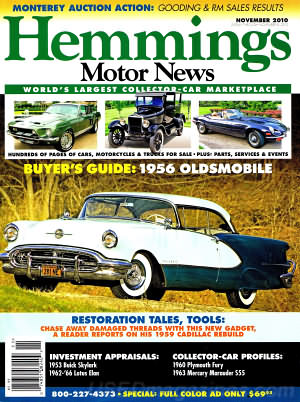 Hemmings Motor News November 2010