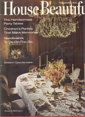 House Beautiful November 1966