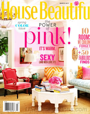 House Beautiful March 2011