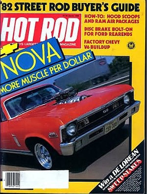Hot Rod March 1982