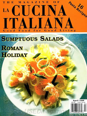 La Cucina Italiana April 1998