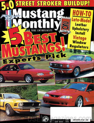 Mustang Monthly May 1998