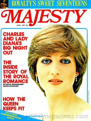 Majesty April 1981