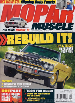 Mopar Muscle November 2010